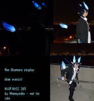 Rin Okumura Demon Form Cosplay by Monoyasha