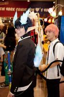 Rin Okumara NYCC Photoshoot 1 by Monoyasha