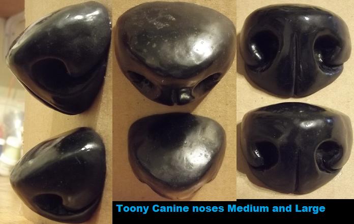 New style toony k9 noses by Monoyasha