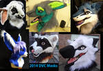 2014-15 Fursuit Masks
