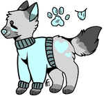 $1 or 100 pts doggo adopt (base used) OPEN by Chemicalology