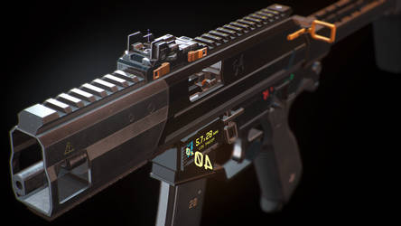 ARES TYPHOON M1 SMG by konon667