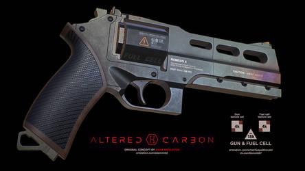 NEMEX (Kovacs' gun concept from Altered Carbon) by konon667