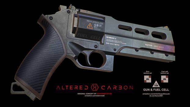 NEMEX (Kovacs' gun concept from Altered Carbon)