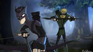VS : Hawkeye-Green Arrow