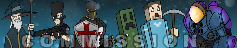 Commission Pawncraft Header by ebbewaxin