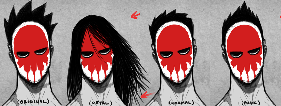 Character Design Hairstyles : Main character design hairstyles wip by ebbewaxin on