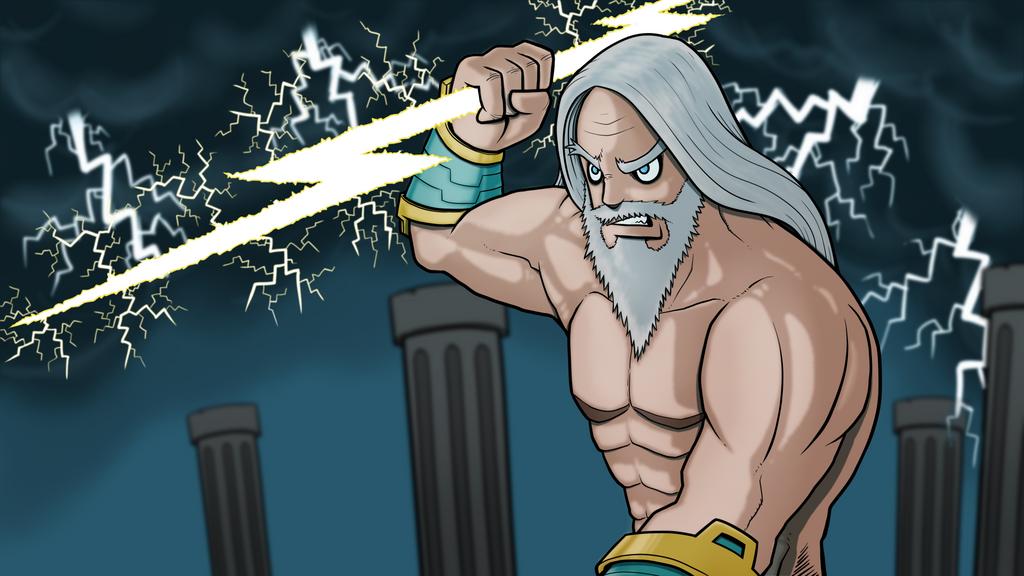 Request Tajm - God Zeus by ebbewaxin