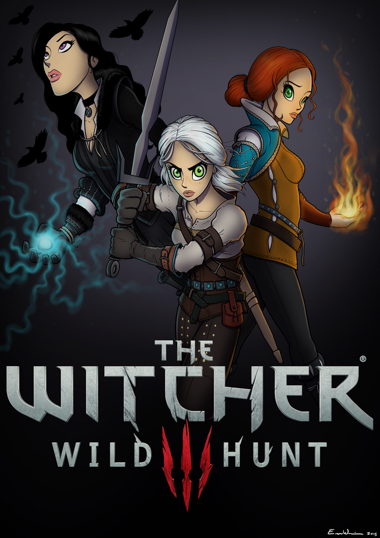 Witcher 3 Art Contest Submission by ebbewaxin