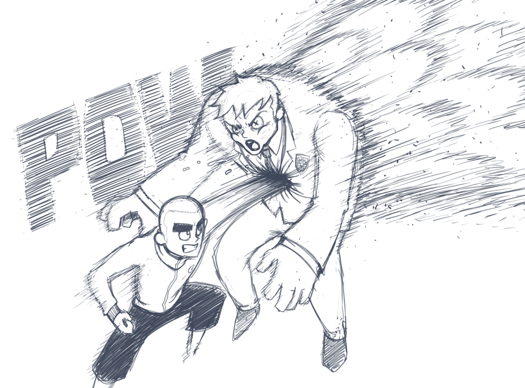 Concept Sketch for Death Academy webcomic by ebbewaxin