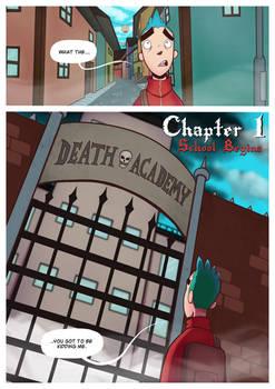 Death Academy Ch.1 P.1