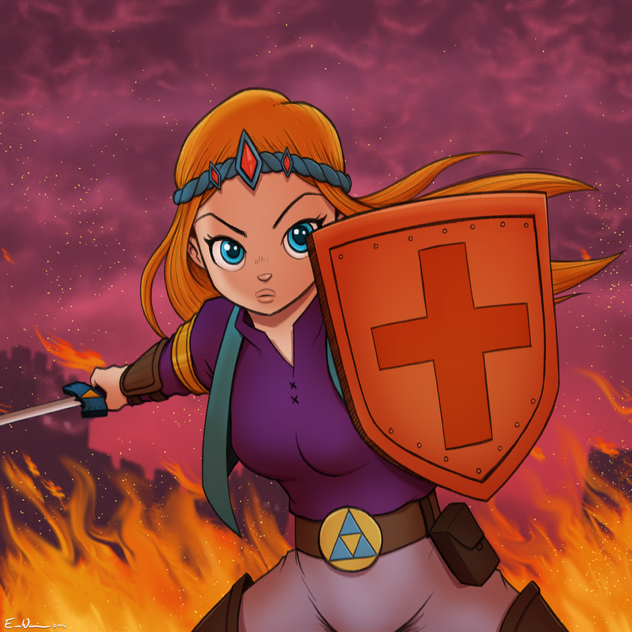 Zelda - The Hero of Hyrule by ebbewaxin