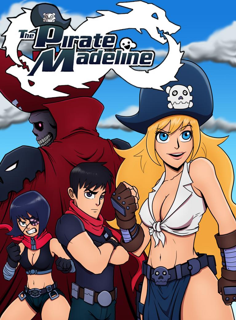 Pirate Madeline Fan Art by ebbewaxin