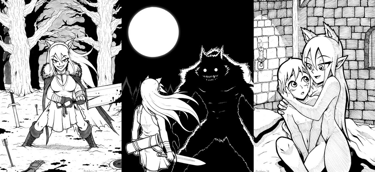 Fantasy Comic Concept Art Dump by ebbewaxin