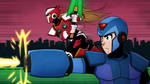 Mega Man and Zero Fan art