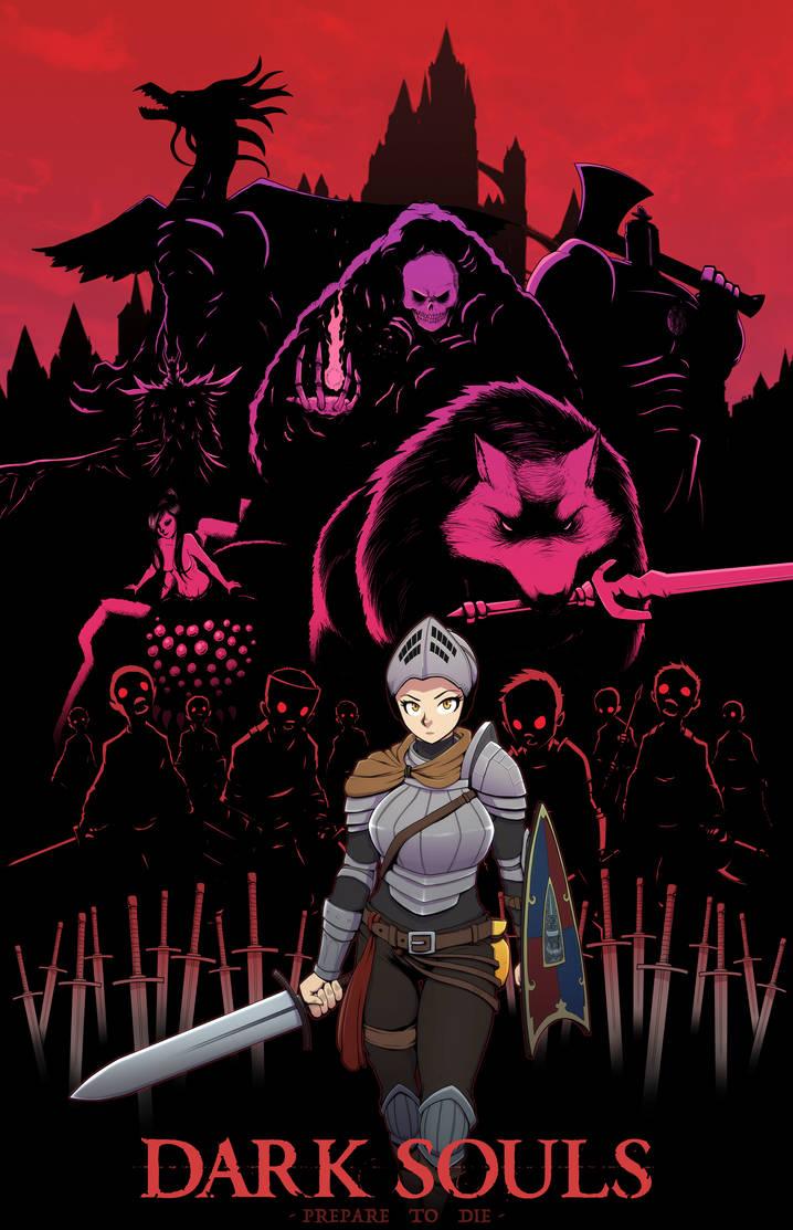 Dark Souls Fan Art by ebbewaxin