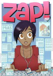 Zap Cover Idea Drawing 03