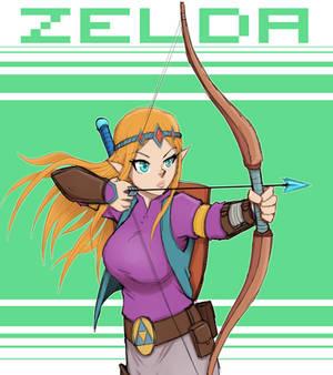 Zelda Bow Sketch