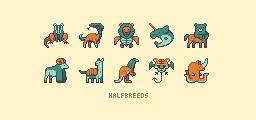 Animal Half-Breeds by Zapchu25