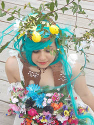 Flower girl Miku
