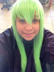 C.C wig progress~