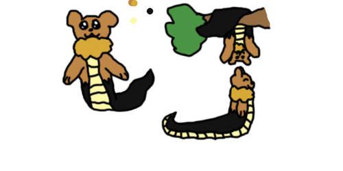 Cain the bearga(bear-naga)  small ref