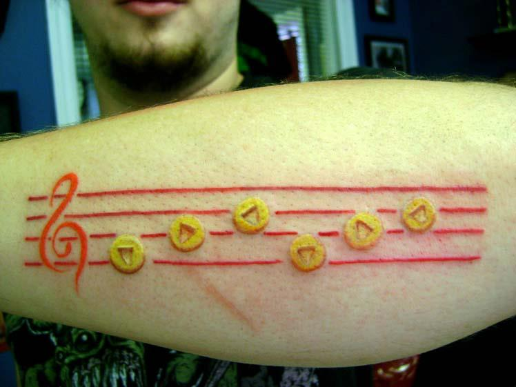 Sarias Song Original N64 tattoo by MikeFF8 on deviantART