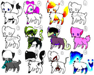 More Kitty Adopts by Twilightthekitty