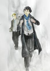 Sherlock Watercolour by Tio-Trile