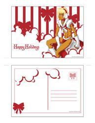 CHRISTMAS CARD XANDIR by beru-buru