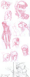Sketch Dump n.01 by beru-buru