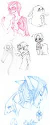 Sketch Dump n.02 by beru-buru