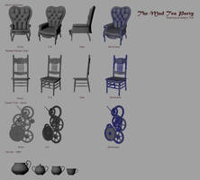 Mad Tea Party - Props WIP