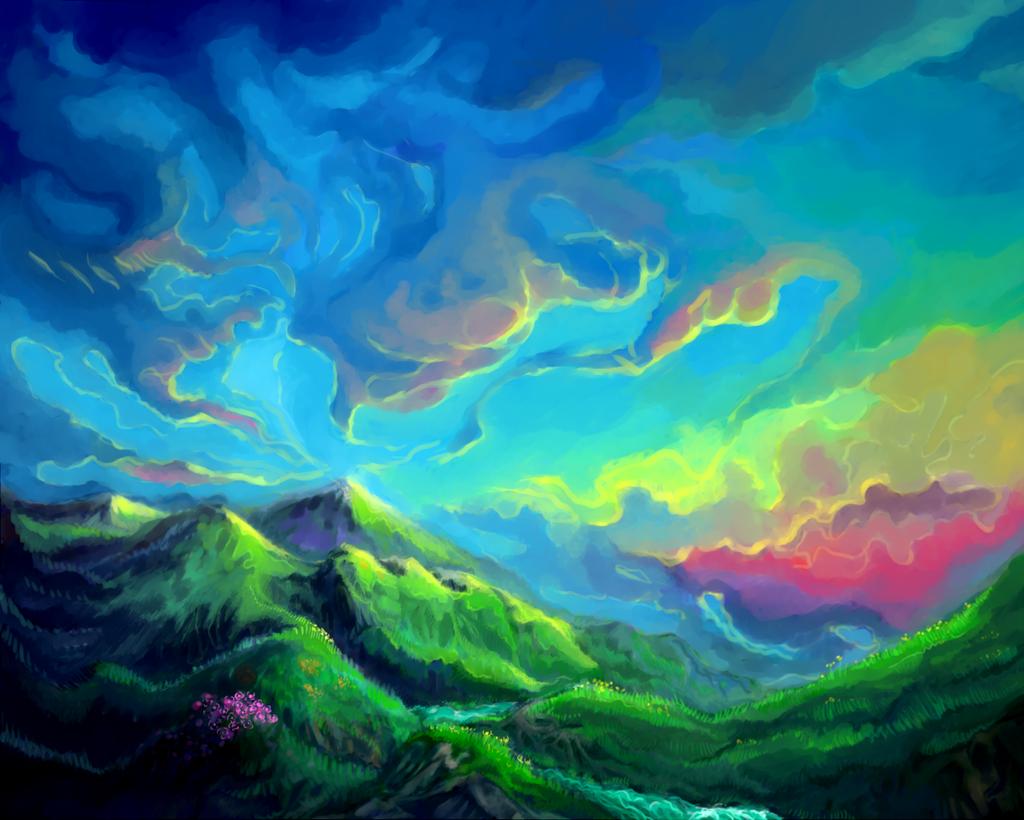 Admire the earth by Macrocosmique
