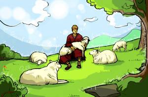 Our shepherd by Macrocosmique