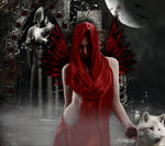 Red Gothic Angel