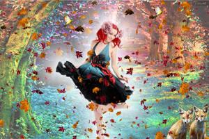 Autumn Dance by tinca2