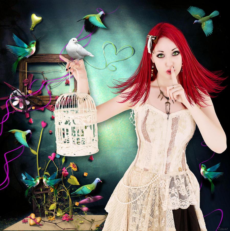 Queen of Birds by tinca2