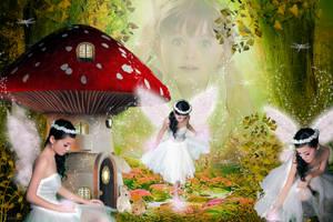Sweet Fairy Paradies by tinca2