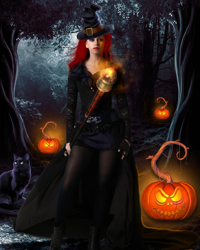 Witch of Halloween by tinca2 on DeviantArt