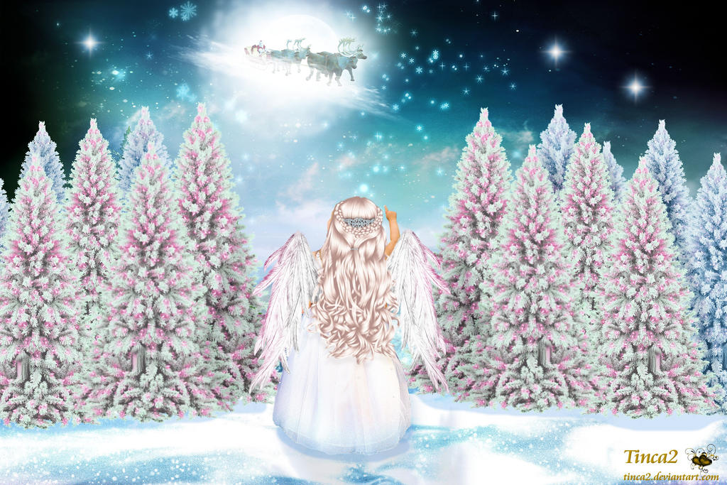 Christmas Angel by tinca2 on DeviantArt