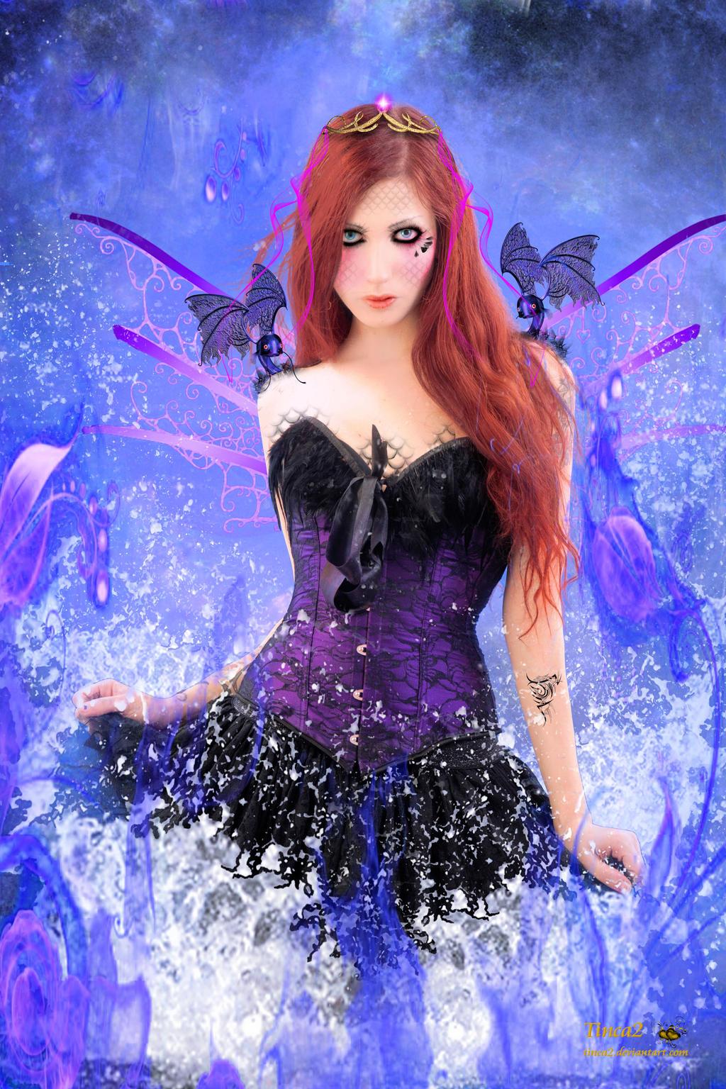 Dragon Water Fairy by tinca2