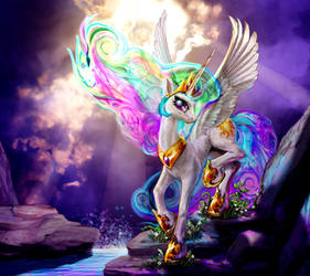 A Namby-Pamby Pony Princess by harwicks-art
