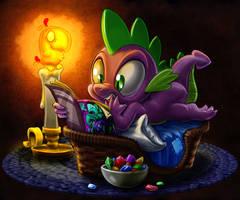 Spike's New Comic Night by harwicks-art
