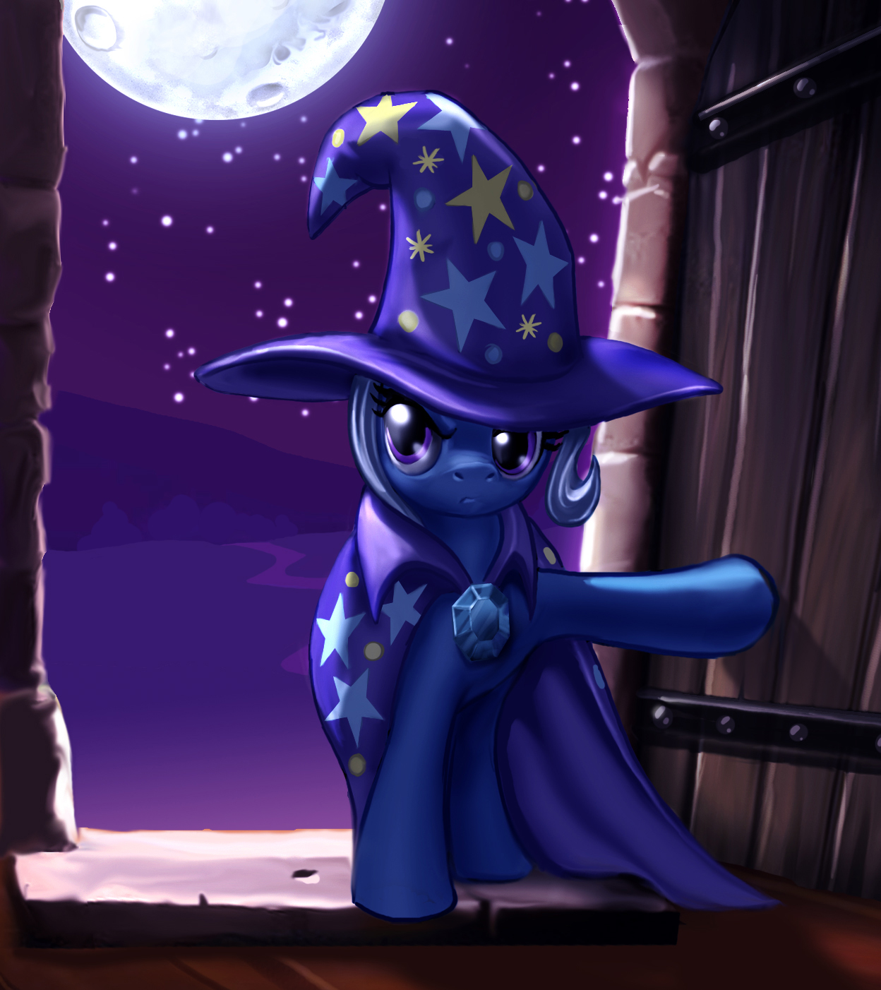 A Wild Trixie Appears by harwicks-art