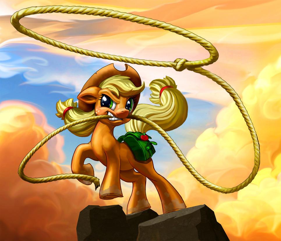 Applejack Day 2015 by harwicks-art