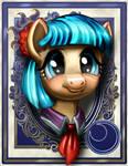 Miss Pommel Aka Coco by harwicks-art