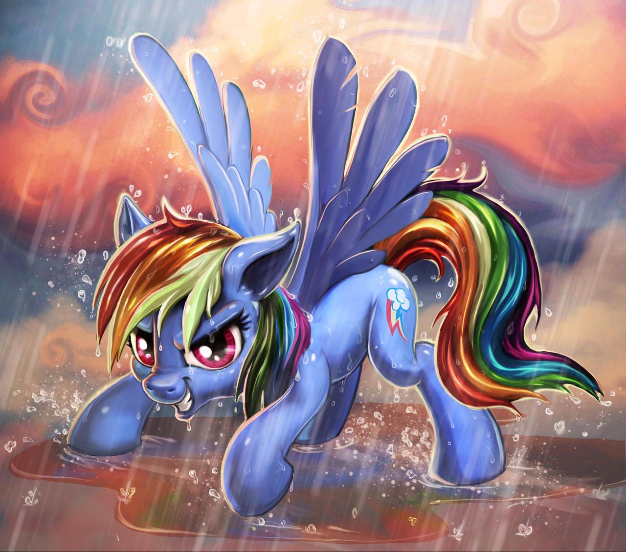 Who's ready for a Rainbow? by harwicks-art