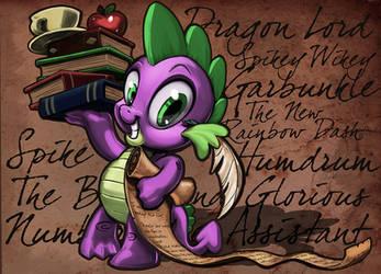Dragon of Renown by harwicks-art