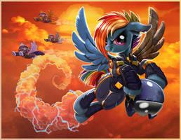 Pegasus Troopers by harwicks-art